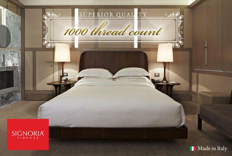1000tcイタリア製ラグジュアリーホテル枕カバー
