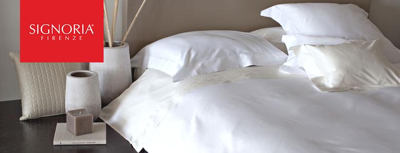 イタリア製サテン織エジプト綿 シグノリアシーツ